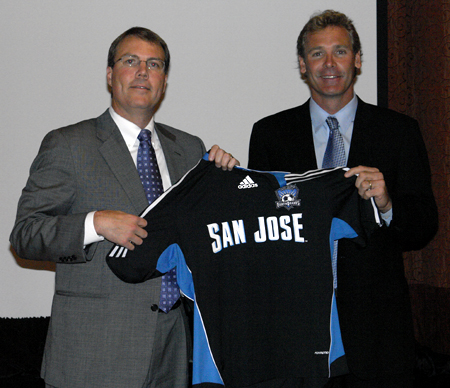 John Doyle named GM of the new SJ Earthquakes